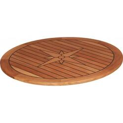 Teak Table Top - Circle - Nautic Star