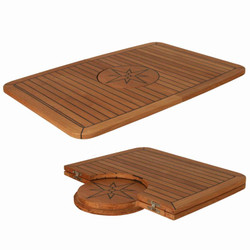 Teak Table Top - Wide - Nautic Star - Folding