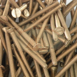 Bronze Machine Screws
