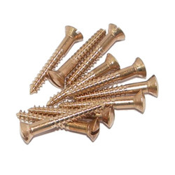 Cut-head screws - silicon bronze