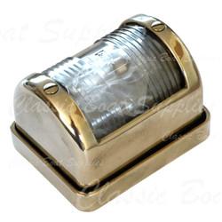 Brass stern light - polished brass finish