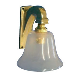 Davey brass saloon light