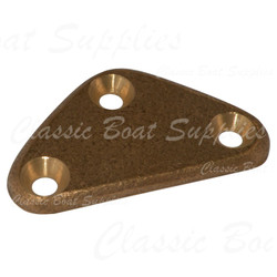Bronze Backing Plate - Diamond