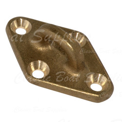 Bronze Pad Eye - Diamond