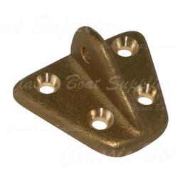 Manganese Bronze Chain Plate - Lightweight