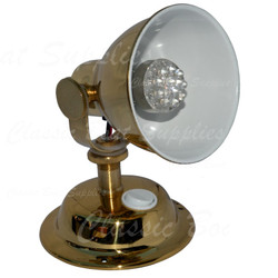 LED Berth Light in Polished Brass