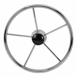 Stainless Steel Wheel - 10-degree Dish