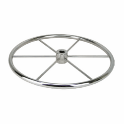 Stainless Steel Flat Wheel - Parallel Shaft