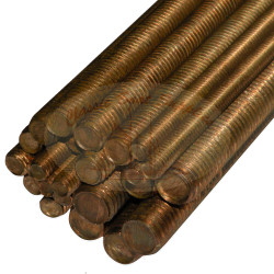 Threaded Silicon Bronze Rod