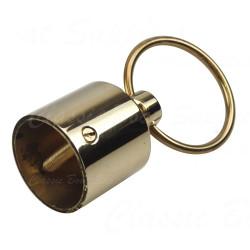 Brass Rope Terminal - Ring