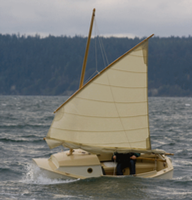 Cape Horn in a John Welsford-designed SCAMP