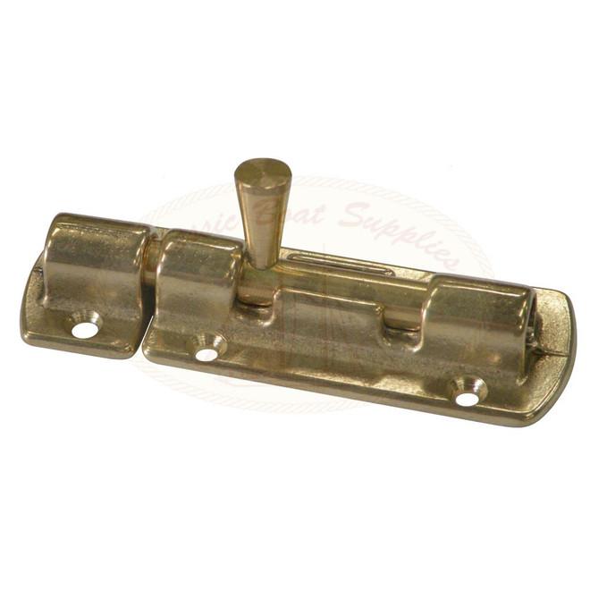 Brass Barrel Bolt - 90mm