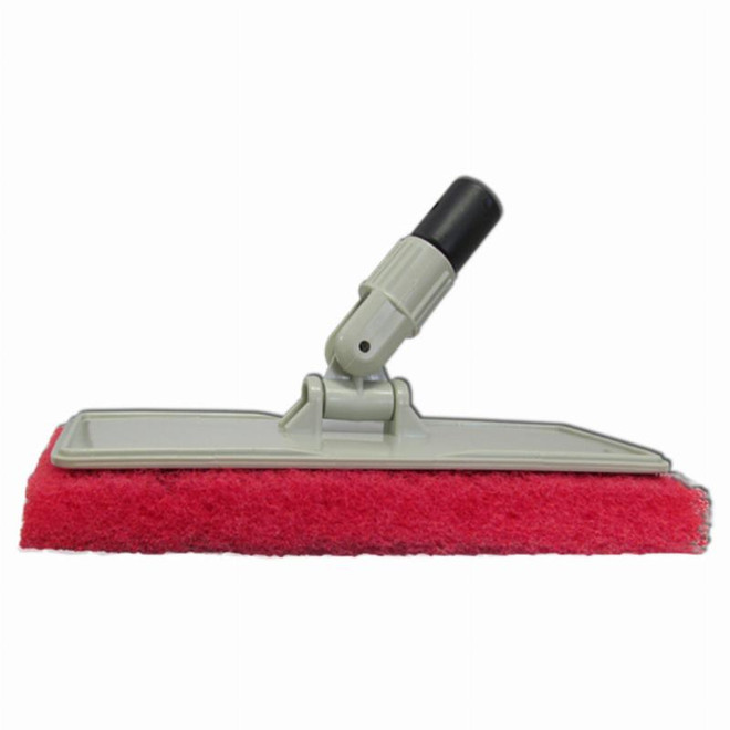 Starbrite Starbrite Flexible Head Scrubber With Red Pad