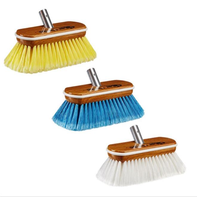 "Starbrite Starbrite Premium Wash Brush - Synthetic Wood Block 8"""