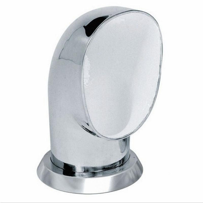 Vetus Stainless Steel Cowl Vent - White Interior