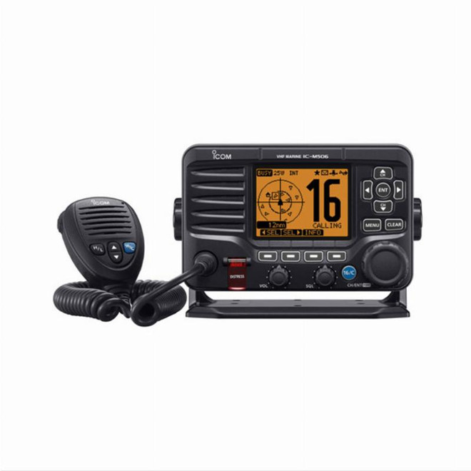 ICOM M506EURO Advanced Fixed Mount VHF with AIS & NMEA 2000 Connectivity