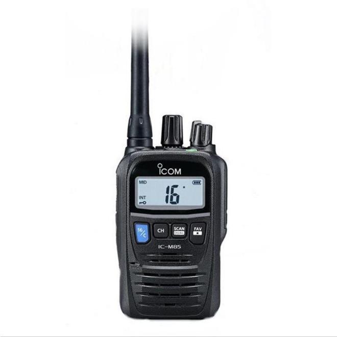 ICOM M85E VHF Marine Transceiver & LMR Hybrid - Professional Use