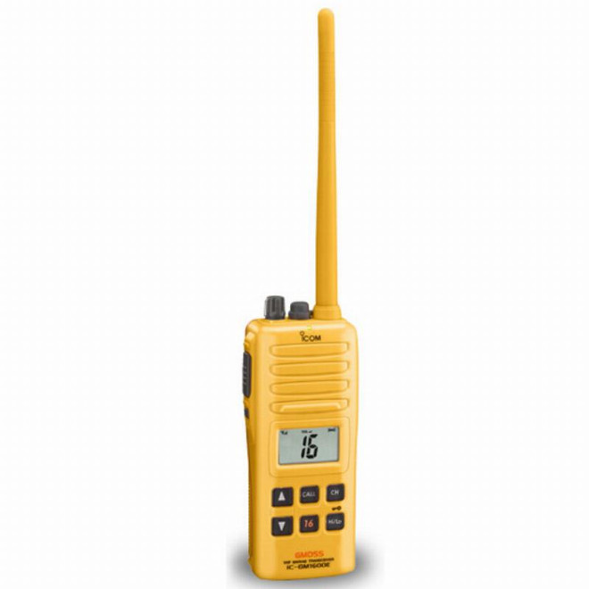 Icom Radio ICOM GM1600E Hand-Held VHF Portable for Survival Craft