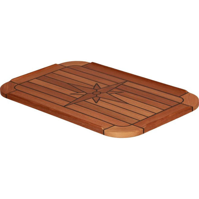 Teak Table Top - Rounded Corners