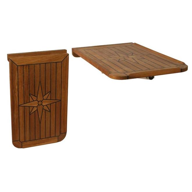 Teak Table Top - Folding Table