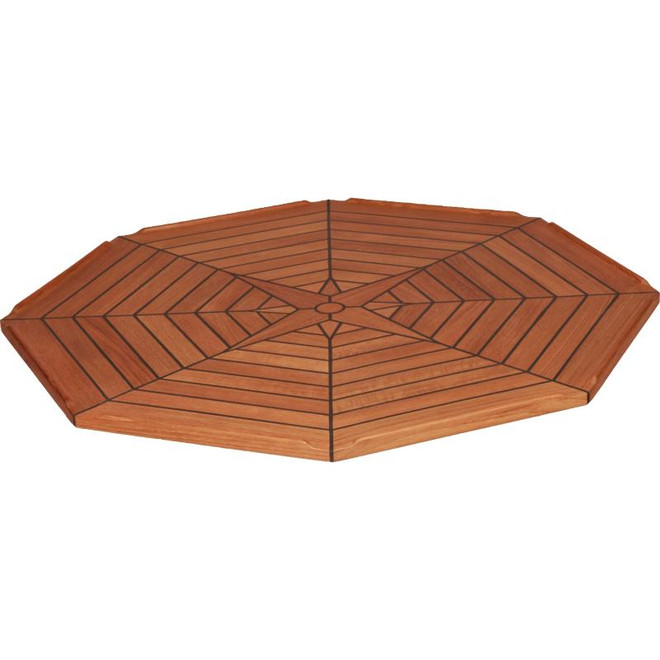 Teak Table Top - Octagonal