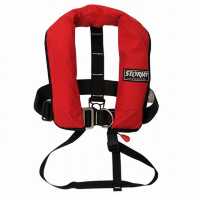 Stormy Life Vest - Water Activated Junior 40kg+ 150N