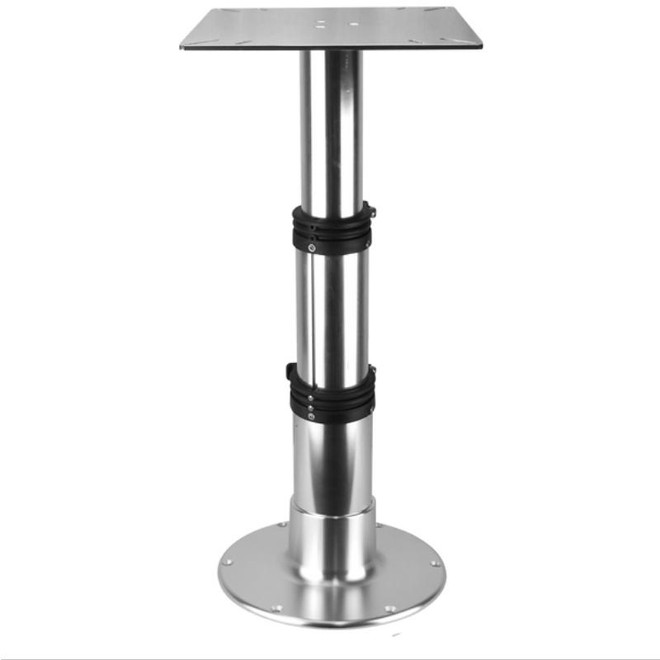 Table Pedestal - 3 Stage Aluminium - Gas