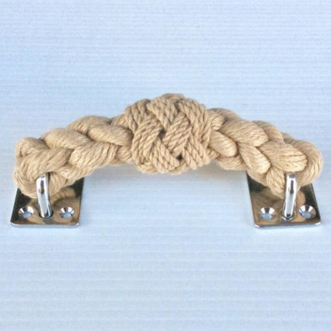 Rope Draw Pull Handle - Natural