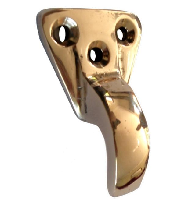 Bronze Hook - Triangular Base