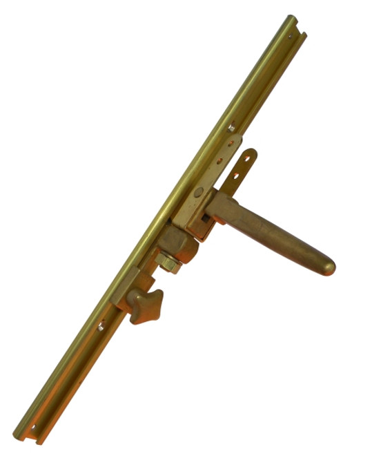 Dinghy gooseneck fitting in brass