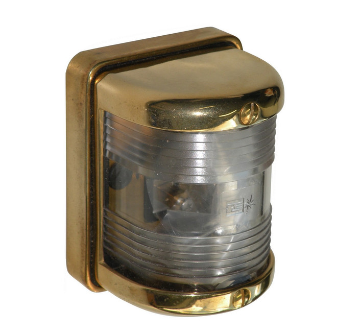 Brass mast head light