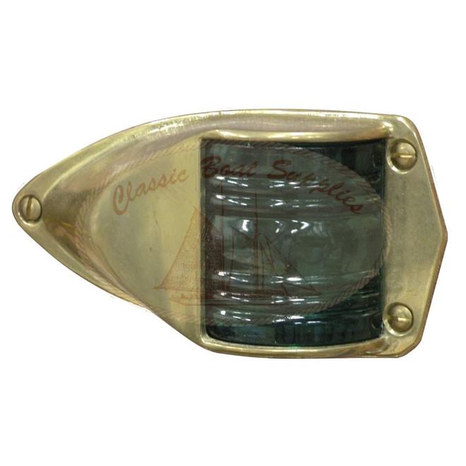 Brass Nav Light - Starboard
