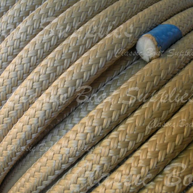 Spun polyester braided rope by Langmans