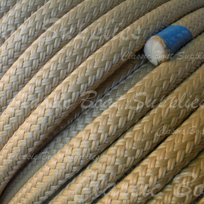Spun polyester braided rope by Langmans