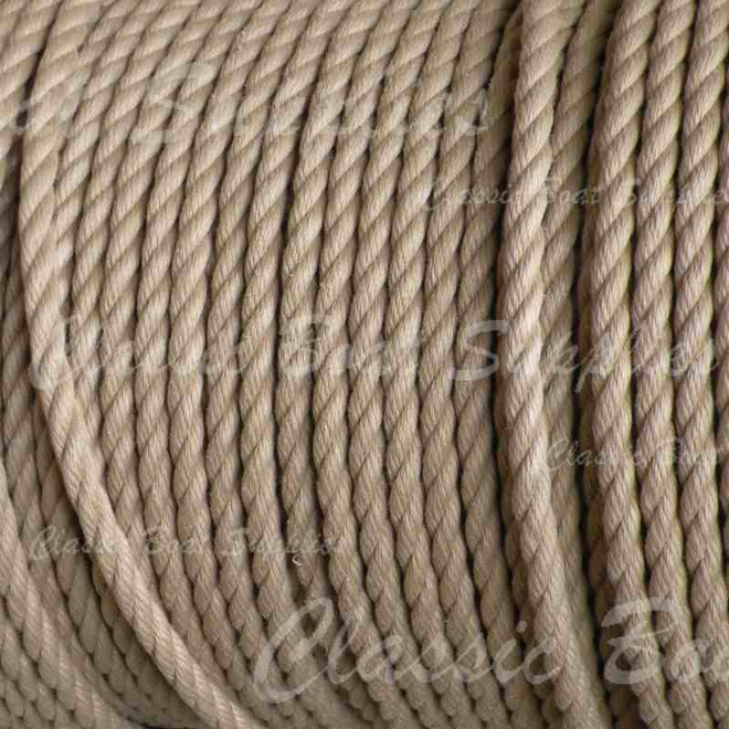Soft-feel-polyester rope