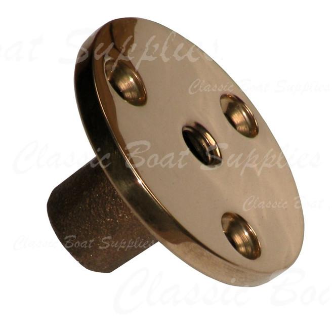 Davey Bronze Threaded Deck Plates (9420/GM/50/08)