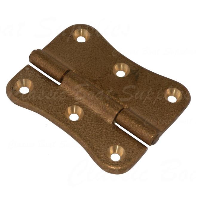 Bronze scallop hinge - H400
