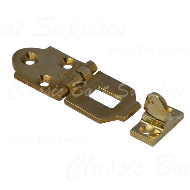 Brass Hasp & Staple