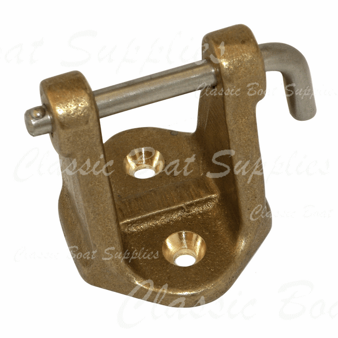 Bronze Anchor Bracket
