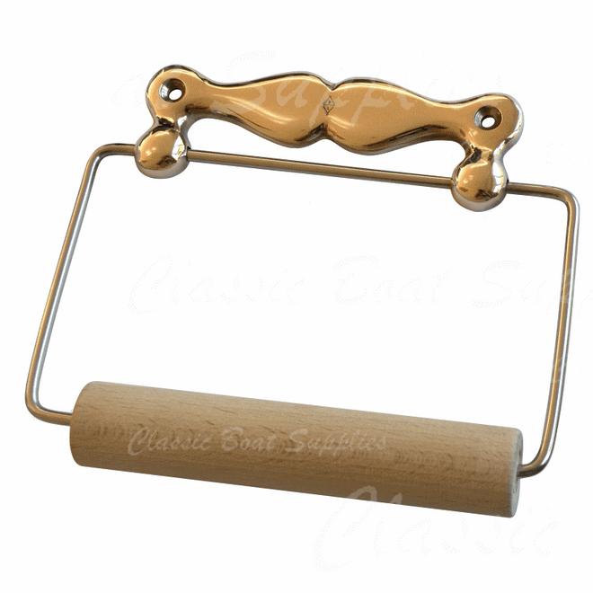 Antique Bathroom Roll Holder