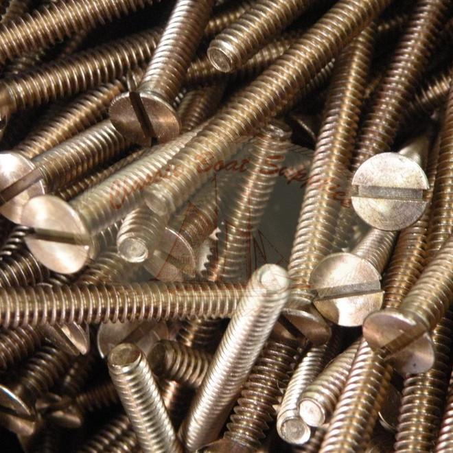 3/16 Machine Screws - Bronze