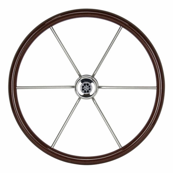Timber Yacht Wheel