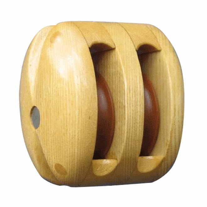 Double Timber Strop Block