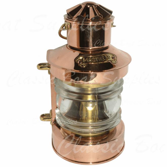 Copper Oil Lantern - Masthead