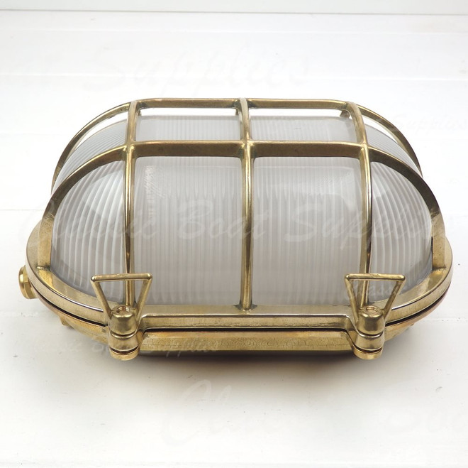 Brass Caged Light
