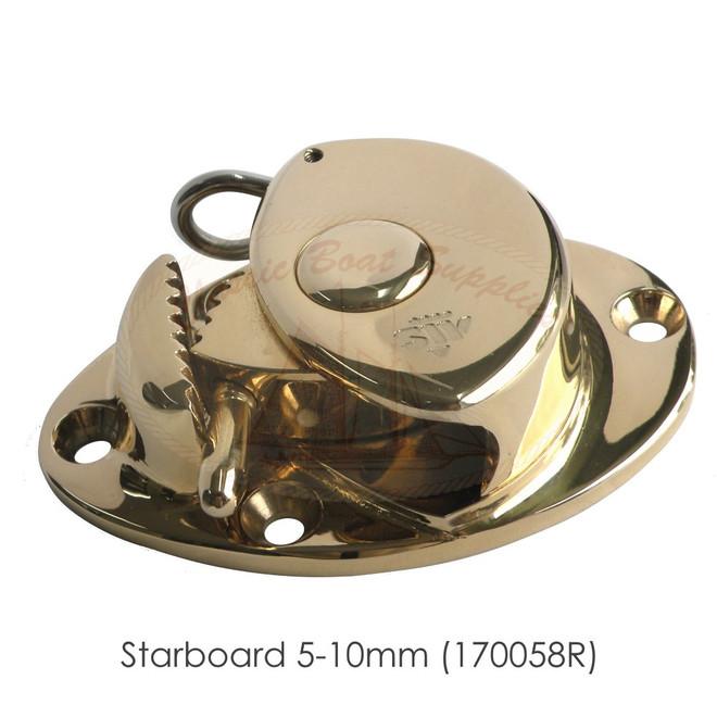 Bronze Jamming Cleat - 5-10mm