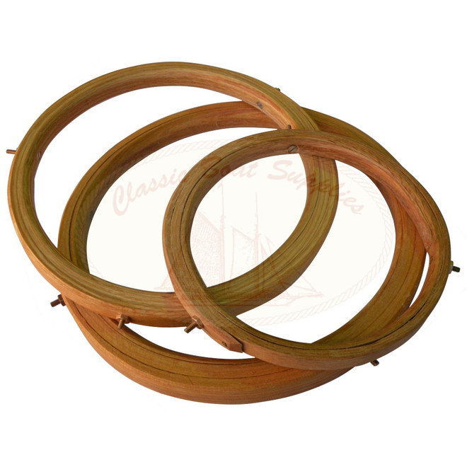 Bolted Wooden Mast Hoops