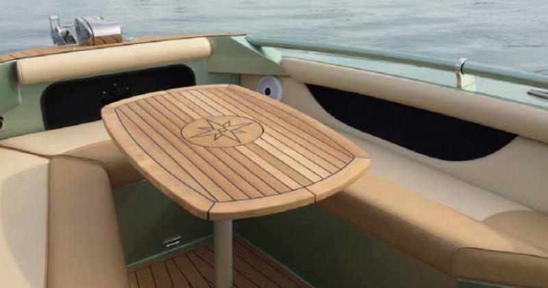 Teak Table Folding Ellipse Tc642 Classic Boat Supplies