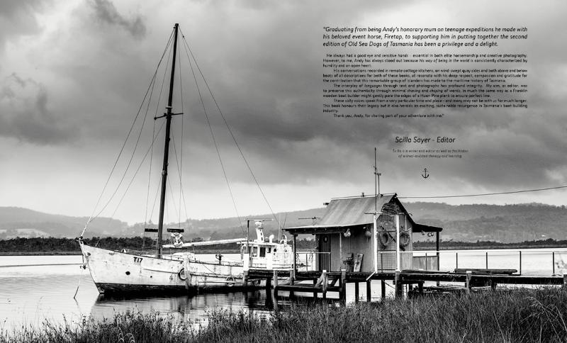 Old Sea Dogs Of Tasmania Book Two Classic Boat Supplies Australia