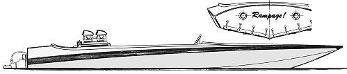 Glen-L Ski-boat Plans: Rampage